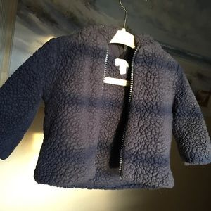 3-6 months Baby jacket in blue by Gymboree.
